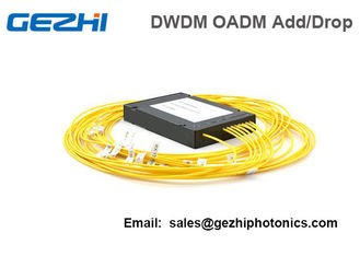 China 4 Channels DWDM Dual Fiber OADM East-Or-West Box Module LC/UPC supplier