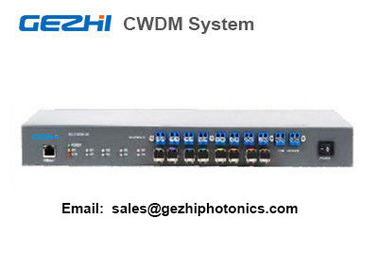 China CWDM system 4 Channel Mux Demux Management Access System over Fiber Multiplexer supplier
