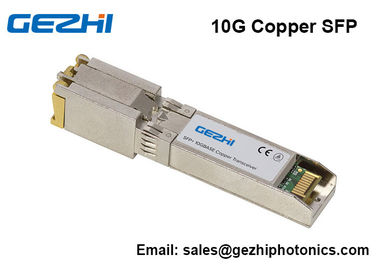 China 10G SFP+ Copper Transceiver 10GBASE-T SFP Module  RJ45 Cisco Compatible supplier