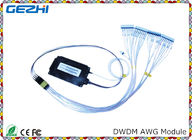 Passive product DWDM Mux Demux 100G 40CH Arrayed Waveguide Grating for WDM Network