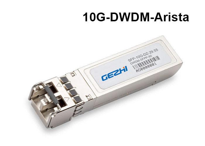 Arista 10GBASE-DWDM 10G SFP+ Transceiver 1529 55nm 100-GHz ITU grid 80km
