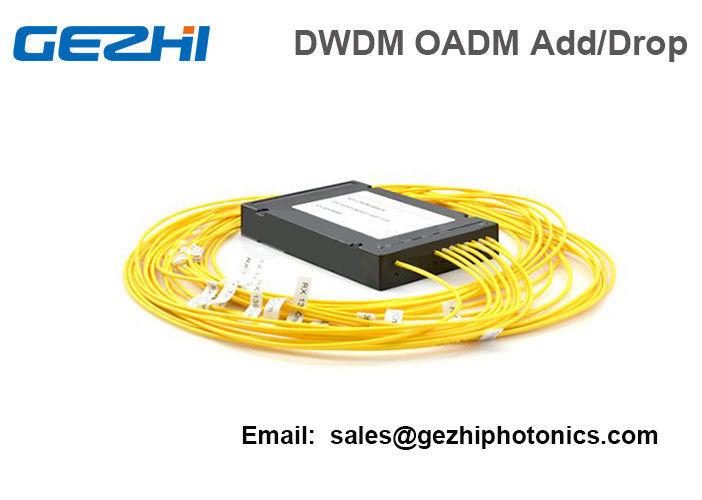 4 Channels DWDM Dual Fiber OADM East-Or-West Box Module LC/UPC