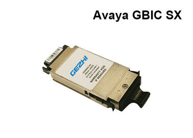 China AVAYA 1GE SX Fiber Channel GBIC Transceiver Module 550 Meter Distance distributor