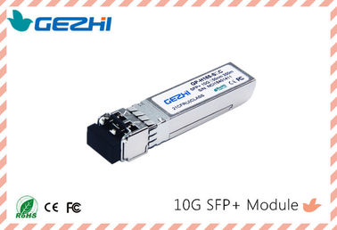 China SFP Plus / 10G Optical Transceiver SR 850nm 300M LC distributor