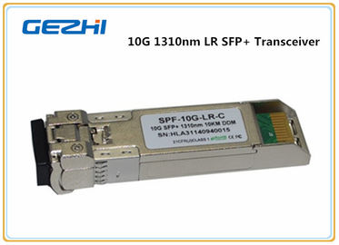 China 10km LR DDM 10G Optical Transceiver , LC optical fiber transceiver  SFP-10G-LR distributor