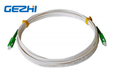 China FTTH Drop Cable Patch Cord Accessories SC / APC - SC / APC SM LSZH 1M Jumper Indoor distributor