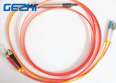 China Mode Conditioning Duplex Fiber Optic Patch Cable 50 / 125um LC To FC For FTTB distributor