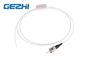 China ST UPC SM SX Fiber Optic Pigtail Single Mode Simplex White Cable for FTTB distributor