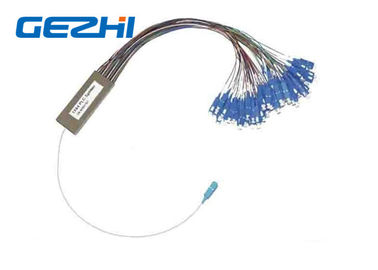 China OEM Fiber Optic PLC Splitter 1x64 1x128 2mm Cassette Type Fc Sc Lc St Connectors distributor