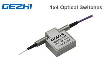 1×4 Mechanical Fiber Optic Switch Single Mode or Multimode Optical Switches Module