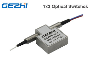China 1x3 / 3x1 Latching Prism High Speed Optical Switch 850nm Multimode Wavelenght distributor