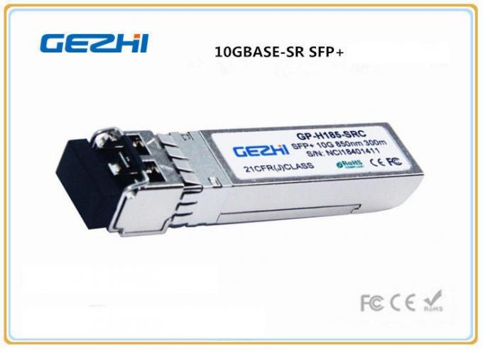 300m SFP+ Optical Transceiver , 10G - SFPP - SR 10G SFP + Transceiver Module